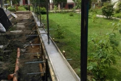 бетонная лента под забор (2)
