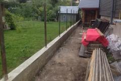 бетонная лента под забор (3)