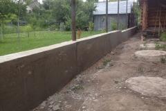 бетонная лента под забор