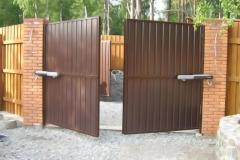 ворота распашные3