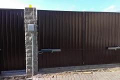 ворота распашные4