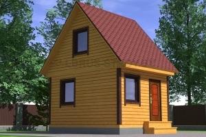 Дом из бруса №2