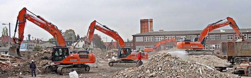 Демонтаж и снос зданий и сооружений