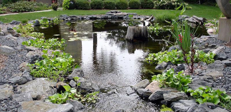 Установка искусственных водоемов